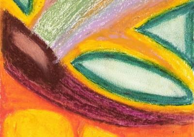 Pastel: flower
