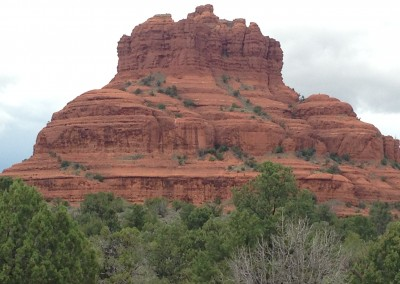 View of Bell Rock, Sedona, AZ