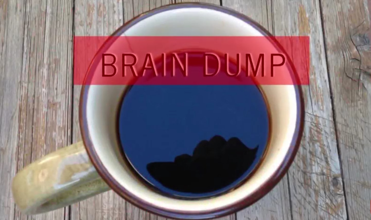 brain dump by Johnna Gale